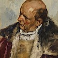 M Nnlicher Charakterkopf by Gebhardt Eduard von