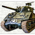 M4 Sherman Map by Weston Westmoreland