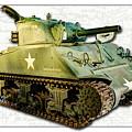 M4 Sherman Tank 2 by Weston Westmoreland