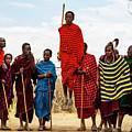 Maasai Jumping Dance by Kay Brewer