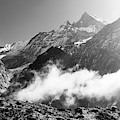 Machhapuchhare  Moutain Peak In Himalayas, Nepal by Didier Marti