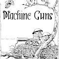 Machine Gun C M T C  By Jo Mora 1926 by California Views Archives Mr Pat Hathaway Archives