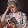 Madame Francois Buron by Jacques-Louis David
