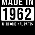 Made In 1962 by Jose O