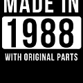 Made In 1988  by Jose O