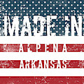 Made In Alpena, Arkansas #alpena #arkansas by TintoDesigns