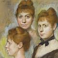 Mademoiselle Salle, 1886  by Edgar Degas