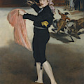 Mademoiselle V      In The Costume Of An Espada  by Edouard Manet
