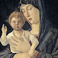 Madonna And Child By Giovanni Bellini by Giovanni Bellini