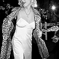 Madonna Arrives For Her Pajama Party At by New York Daily News Archive