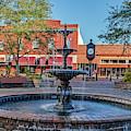 Magnolia Squmagnolia Square Fountain by John Zawacki
