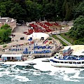 Maid Of The Mist Tour Boat At Niagara Falls by Rose Santuci-Sofranko