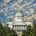 Maine Capitol Building by Anthony Dezenzio