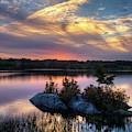 Maine Sunset by Walt Sterneman