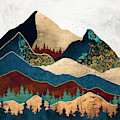 Malachite Mountains by Spacefrog Designs