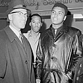 Malcolm X Left With Cassius Marcellus by New York Daily News Archive