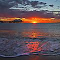 Malibu Pier Sunrise by John Rodrigues