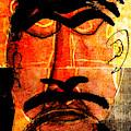 Man Face Digital 10 by Artist Dot