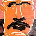 Man Face Digital 11 by Artist Dot