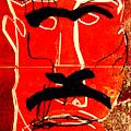 Man Face Digital 9 by Artist Dot