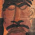 Man Face Original 10 by Artist Dot