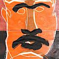 Man Face Original 11 by Artist Dot
