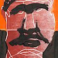Man Face Original 12 by Artist Dot