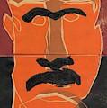 Man Face Original 8 by Artist Dot