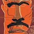 Man Face Original 9 by Artist Dot