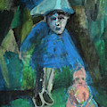 Man In A Park With A Baby by Edgeworth DotBlog