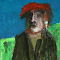 Man In A Red Hat by Edgeworth DotBlog