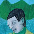 Man Leaving An Island by Edgeworth DotBlog