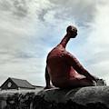 Man On The Wall by Carlos Amaro