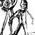 Man Standing With A Bird by Edgeworth DotBlog
