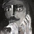 Man With A Handlebar Moustache by Edgeworth DotBlog