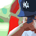 Man With Yankees Cap by NAJE Foto - Nelly Rodriguez