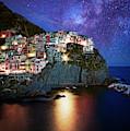 Manarola By Stars by Scott Kemper