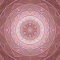 Mandala Introspective Love  by Rachel Hannah