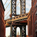 Manhattan Bridge, Brooklyn, New York by Visions Of Our Land