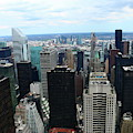 Manhattan From Above  by Christiane Schulze Art And Photography