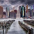 Manhattan Skyline by Jacqui Boonstra