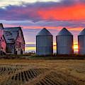 Manitoba Rural Scene by Harriet Feagin