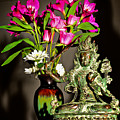 Manjushri- Bodhisattva Of Wisdom by Lita Kelley