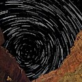 Marble Canyon Star Trails by Walt Sterneman