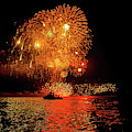 Marblehead Fireworks by Jeff Folger
