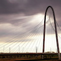 Margaret Hunt Hill Bridge - Large Marge - Dallas, Texas by Jason Politte