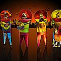 Mariachis by Paul Wear