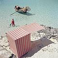 Marietine Birnie, Blue Lagoon by Slim Aarons