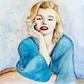 Marilyn Monroe by Janevona Liu