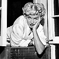 Marilyn Monroe On Set Of The Seven Year by New York Daily News Archive
